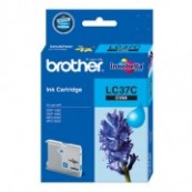 Brother LC-37C Cyan Genuine Original Printer Ink Cartridge