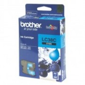 Brother LC-38C Cyan Genuine Original Printer Ink Cartridge