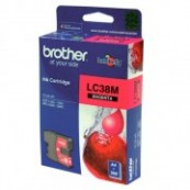 Brother LC-38M Magenta Genuine Original Printer Ink Cartridge