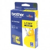 Brother LC-38Y Yellow Genuine Original Printer Ink Cartridge