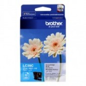 Brother LC-39C Cyan Genuine Original Printer Ink Cartridge