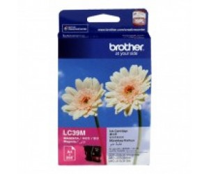 Brother LC-39M Magenta Genuine Original Printer Ink Cartridge