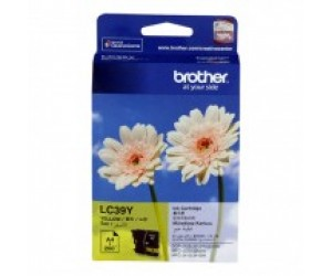 Brother LC-39Y Yellow Genuine Original Printer Ink Cartridge