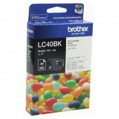 Brother LC-40BK Black Genuine Original Printer Ink Cartridge
