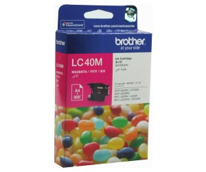 Brother LC-40M Magenta Genuine Original Printer Ink Cartridge