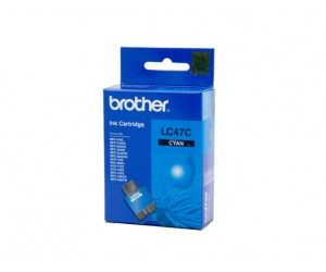 Brother LC-47C Cyan Genuine Original Printer Ink Cartridge
