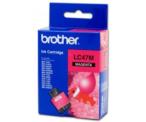 Brother LC-47M Magenta Genuine Original Printer Ink Cartridge