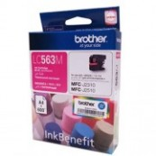 Brother LC-563M Magenta Genuine Original Printer Ink Cartridge
