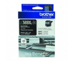 Brother LC-569XLBK Black Genuine Original Printer Ink Cartridge
