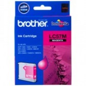 Brother LC-57M Magenta Genuine Original Printer Ink Cartridge