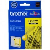 Brother LC-57Y Yellow Genuine Original Printer Ink Cartridge