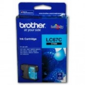 Brother LC-67C Cyan Genuine Original Printer Ink Cartridge