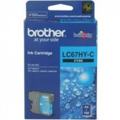 Brother LC-67HYC Cyan Genuine Original Printer Ink Cartridge