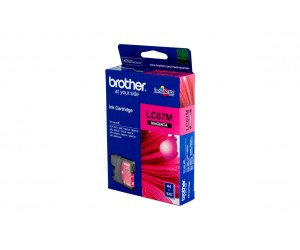Brother LC-67HYM Magenta Genuine Original Printer Ink Cartridge