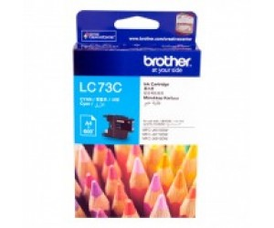 Brother LC-73C Cyan Genuine Original Printer Ink Cartridge