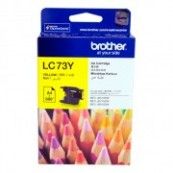 Brother LC-73Y Yellow Genuine Original Printer Ink Cartridge