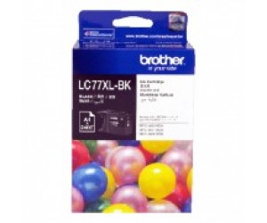 Brother LC-77XLBK Black Genuine Original Printer Ink Cartridge