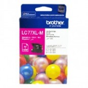 Brother LC-77XLM Magenta Genuine Original Printer Ink Cartridge