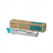 Brother TN-12C Cyan Genuine Original Printer Toner Cartridge