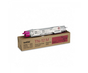 Brother TN-12M Magenta Genuine Original Printer Toner Cartridge