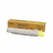 Brother TN-12Y Yellow Genuine Original Printer Toner Cartridge