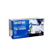 Brother TN-155BK High Yield Black 5K Print Yield Genuine Original Printer Toner Cartridge