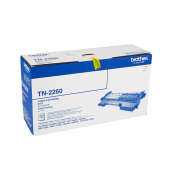 Brother TN-2260 Black Genuine Original Printer Toner Cartridge
