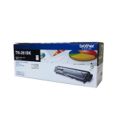 Brother TN-261BK Black Genuine Original Printer Toner Cartridge