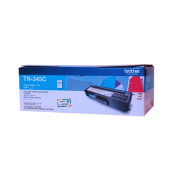 Brother TN-345C High Yield Cyan 3.5K Print Yield Genuine Original Printer Toner Cartridge