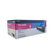 Brother TN-348M Super High Magenta 6K Print Yield Genuine Original Printer Toner Cartridge