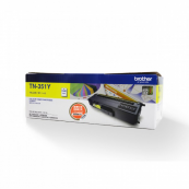 Brother TN-351Y Yellow Genuine Original Printer Toner Cartridge