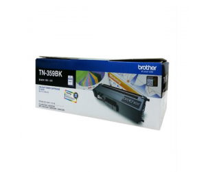 Brother TN-359BK Super High Black 6K Print Yield Genuine Original Printer Toner Cartridge