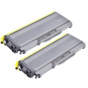 TonerGreen TN-2150 Black Compatible Printer Toner Cartridge Value Pack 2X