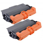 TonerGreen TN-3320 Black Compatible Printer Toner Cartridge Value Pack 2X