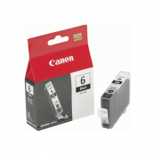 Canon BCI-6BK (4705A004AC) Black Ink Tank (14ml) Genuine Original Printer Ink Cartridge