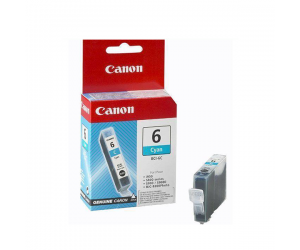 Canon BCI-6C (4706A004AC) Cyan Ink Tank (14ml) Genuine Original Printer Ink Cartridge