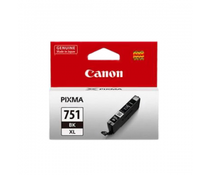 Canon CLI-751BK XL (6453B001AA) Black Dye Ink Tank (11ml) Genuine Original Printer Ink Cartridge