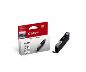 Canon CLI-751GY XL (6457B001AA) Grey Dye Ink Tank (11ml) Genuine Original Printer Ink Cartridge