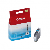 Canon CLI-8C (0621B003AA) Cyan Ink Tank (13ml) Genuine Original Printer Ink Cartridge