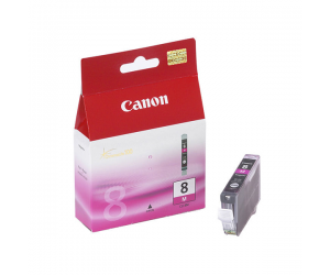 Canon CLI-8M (0622B003AA) Magenta Ink Tank (13ml) Genuine Original Printer Ink Cartridge