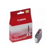 Canon CLI-8R (0626B003AA) Red Ink Tank (13ml) Genuine Original Printer Ink Cartridge