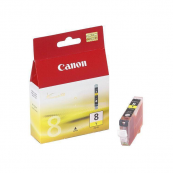 Canon CLI-8Y (0623B003AA) Yellow Ink Tank (13ml) Genuine Original Printer Ink Cartridge