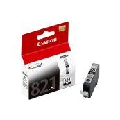 Canon CLI-821BK (2952B001AA) Black Ink Tank (9ml) Genuine Original Printer Ink Cartridge