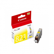 Canon CLI-821Y (2955B001AA) Yellow Ink Tank (9ml) Genuine Original Printer Ink Cartridge