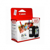 Canon PG-810 + CL-811 (5001B001AA) Black (9ml) + Colour (9ml) Genuine Original Printer Ink Cartridge Value Pack