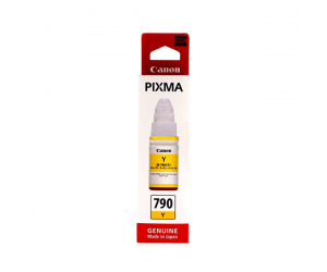Canon GI-790Y (0674C001AA) Yellow Ink Bottle (70ml) Genuine Original Printer Ink Cartridge