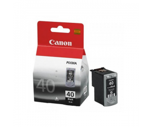 Canon PG-40BK (0615B003AA) Black Fine Cartridge (16ml) Genuine Original Printer Ink Cartridge