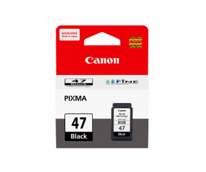 Canon PG-47BK (9057B001AA) Black Fine Cartridge (15ml) Genuine Original Printer Ink Cartridge
