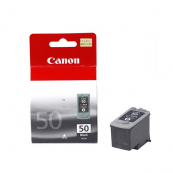 Canon PG-50BK (0616B003AA) Black Fine Cartridge (22ml) Genuine Original Printer Ink Cartridge