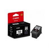 Canon PG-740BK (5231B001AA) Black Fine Cartridge (8ml) Genuine Original Printer Ink Cartridge